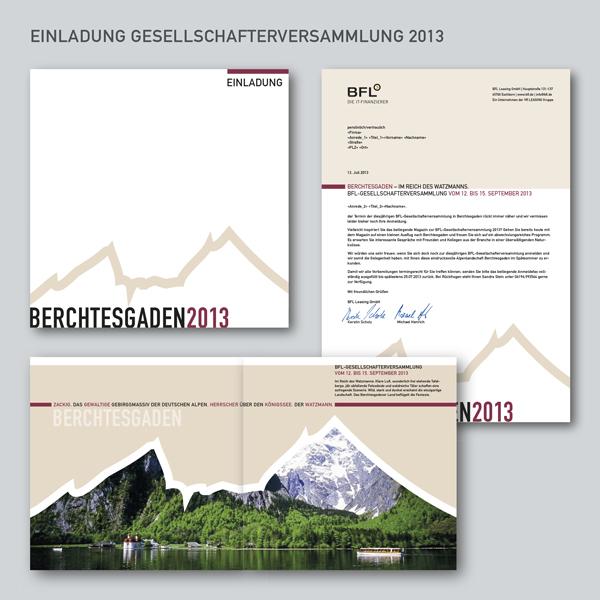 bfl leasing - reichel kommunikation, Einladung
