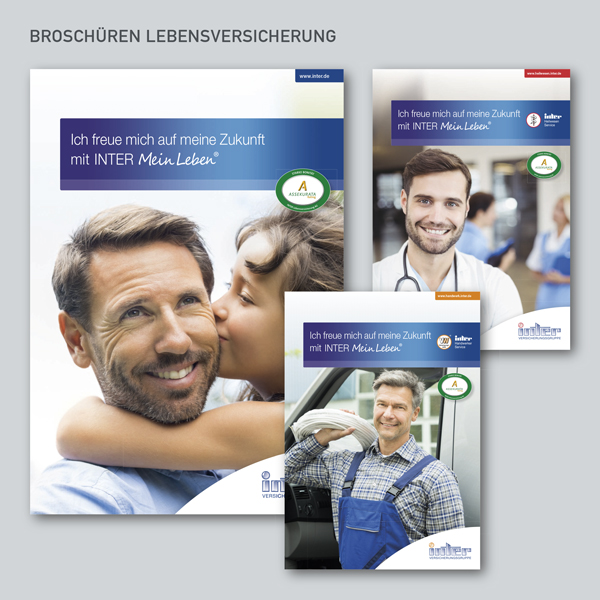 Broschüren INTER Lebensversicherung, INTER MeinLeben