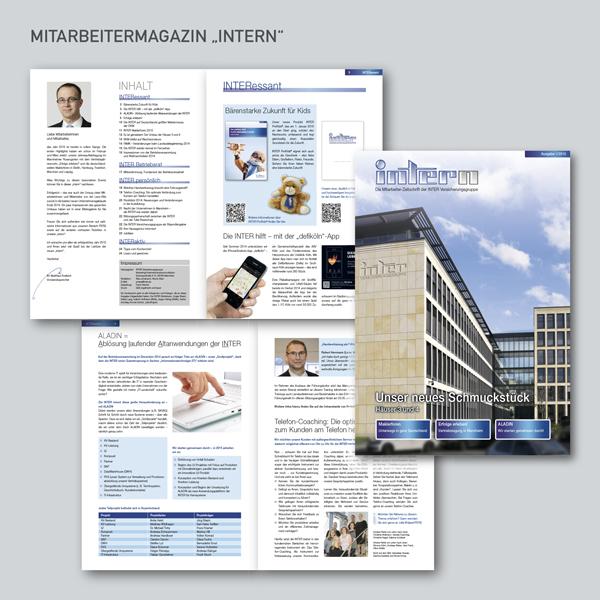 INTER Mitarbeitermagazin Intern, Mitarbeiterzeitung