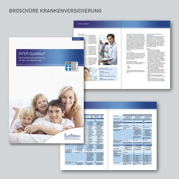 Broschüren INTER Krankenversicherung, INTER QualiMed