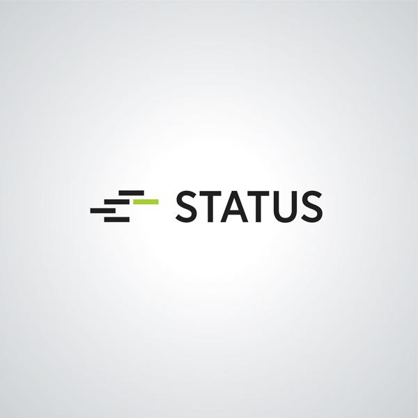 Logoentwicklung Entwurfsarbeit STATUS