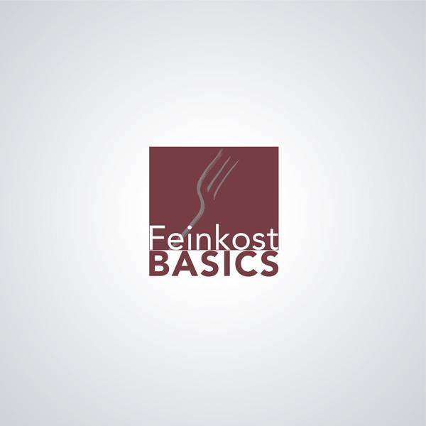 Logoentwicklung Feinkost BASICS
