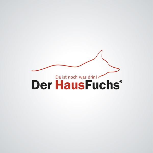 Logoentwicklung HausFuchs