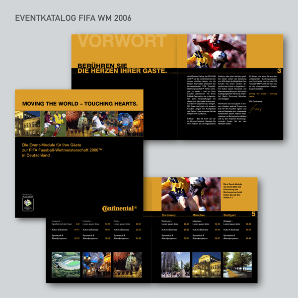 Continental Eventkatalog FIFA WM 2006