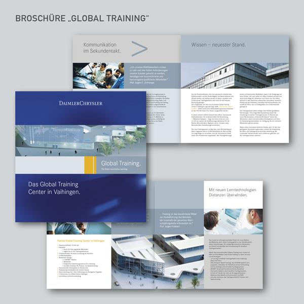 Broschüre Global Training