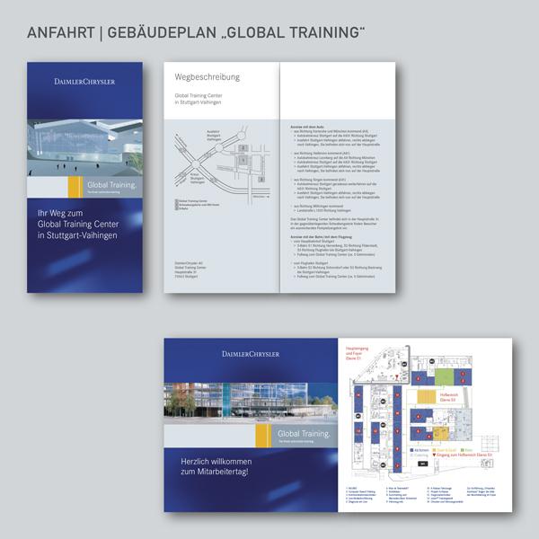 Anfahrt und Gebäudeplan Global Training