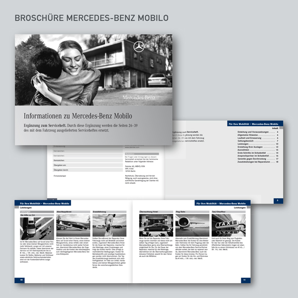 Broschüre Mercedes-Benz Mobilo