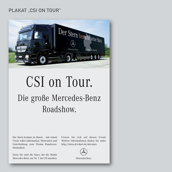 Plakat CSI on Tour