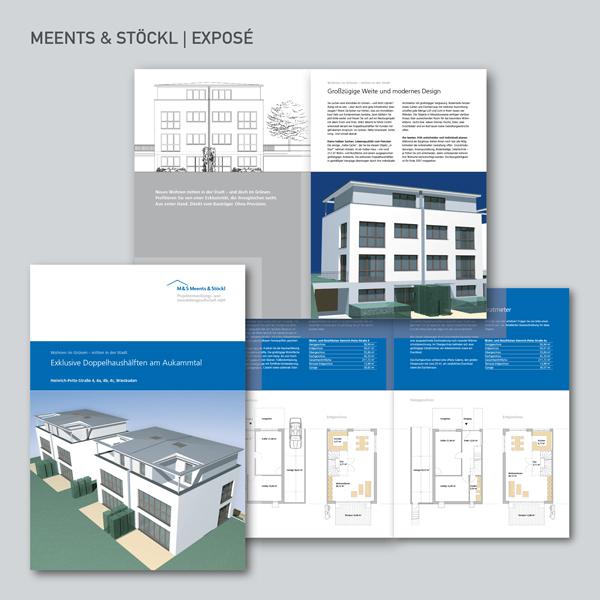 Meents & Stöckl, Exposé, Immobilien