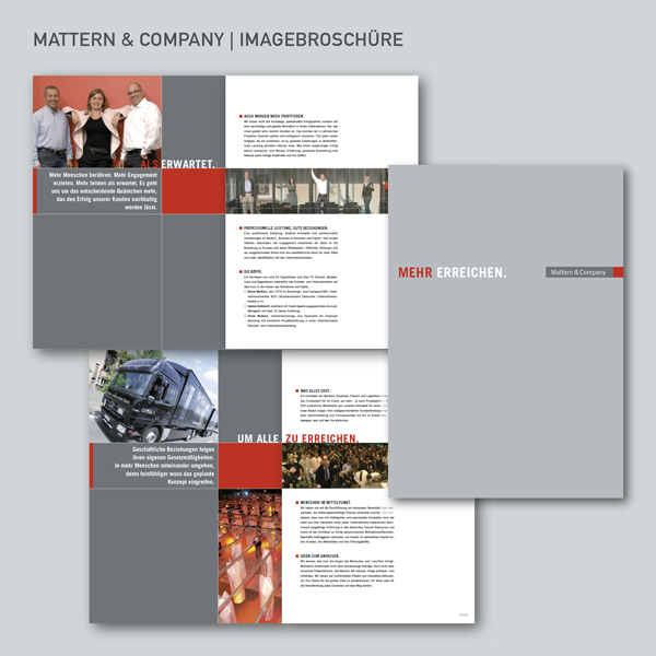 Mattern & Company Imagebroschüre