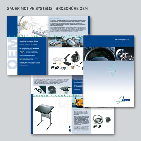 Sauer motive systems, Sauer & Sohn, Broschüre OEM